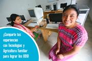 Concurso: TECNOLOGIA en la Agricultura familiar para lograr los ODS