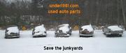 Under1981 Junkyard Used Parts