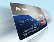 Payoneer-Бесплатная Американская дебетовая карта