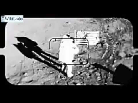 Wikileaks releases unused footage of moon landing