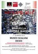 ARTEXPO 2015 at MUSEUM SCALVINI, Italy