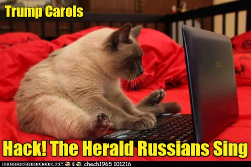 Trump Carols: Hack! The Herald Russians Sing