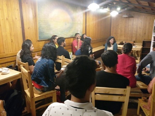 Moments From Shubhra's Book Reading Session
