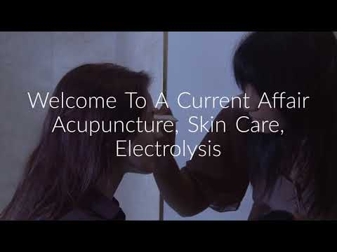 A Current Affair Acupuncture : Facial Rejuvenation in Emeryville
