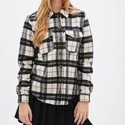 Black and White Plaid Flannel Shirts Manufacturers