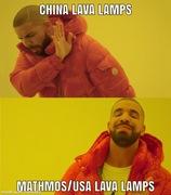 Lava lamp meme