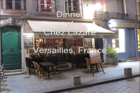 Dinner at Chez Lazare