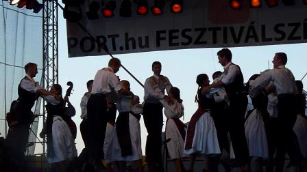 Hungarian folklore dancers