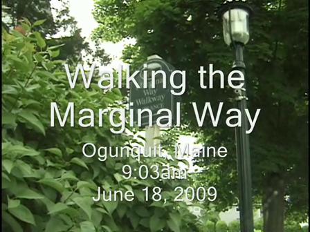 Walking the Marginal Way