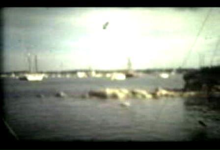 Americas Cup Onboard Tabor Boy 1977