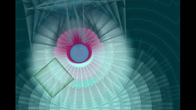 Automatic Square Spirograph Movie with Studio Artist