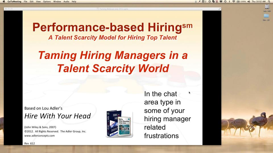 Taming Hiring Managers