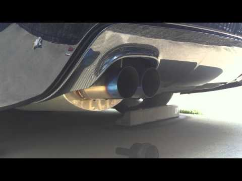 BMW E61 CROSS  Exhaust Sound