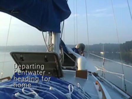 Sailing with Ariel - Pentwater, MI to St Joseph, MI