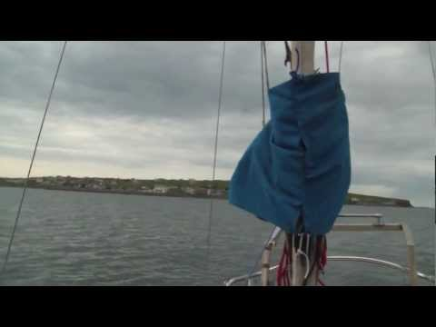 Eden's First Sail Out - May 2012 (Mullaghmore Harbor, Donegal Bay)