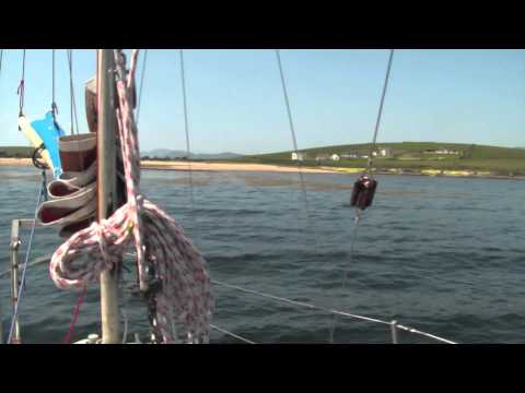 Sailing Eden - Lunch at Castle Cove Co. Donegal, Ireland