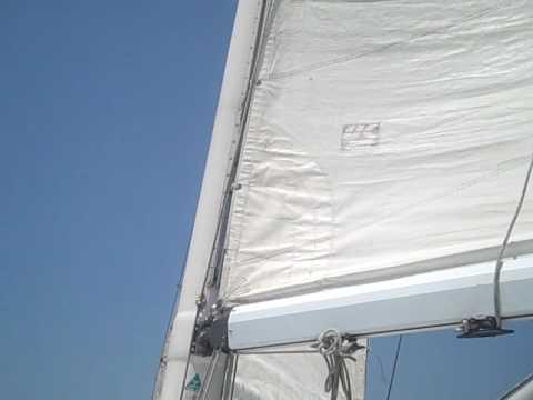 Sails set properly  Myrtle Beach, SC Race May 22, 2010