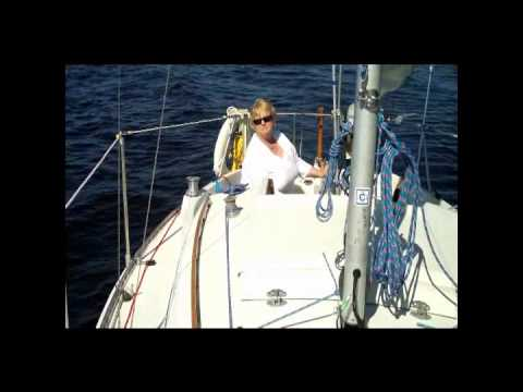 Our first sail in 2010