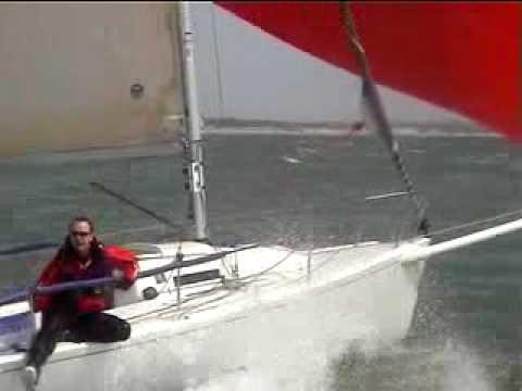 Extreme Sailing 19.6 knots on J80 - Yeehaaa!!!