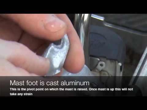 Fixing an aluminum sail boat mast (OnSHUNA)