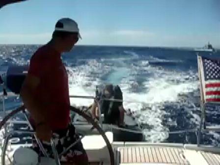 Boarded by the Portuguese coast guard