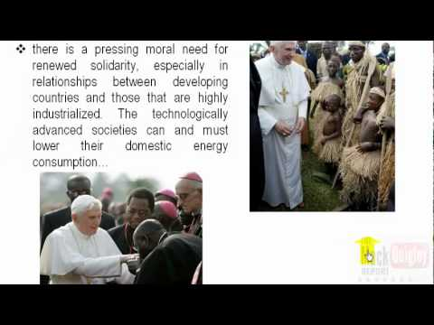 Pope Demands World Authority with Teeth