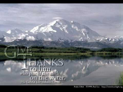Give Thanks To The Lord Acapella
