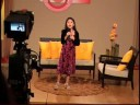 "Charline Faith recording ""I Found Jesus"" in Hope Channel, 7y/o"