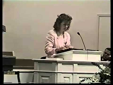 Gail Riplinger: The Dangers of the New King James Version of the Bible - 1