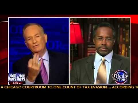 Bill O'Reilly Interviews Dr Benjamin Carson on Being Targeted By IRS   10 2 13
