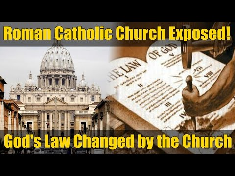Facts that the Roman Catholic Church Doesn't Want You to Know! Pt. 7 - Ten Commandments