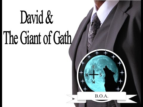 David And The Giant of Gath