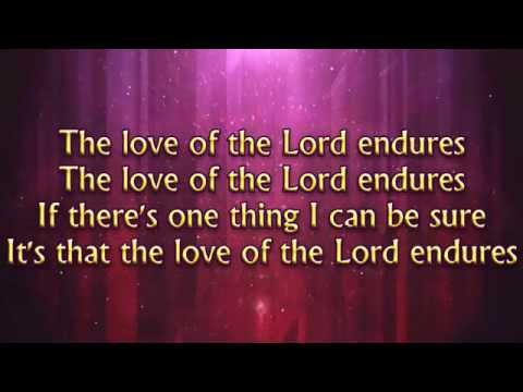 The Love of the Lord Endures (Joy Williams) - MVL - roncobb1