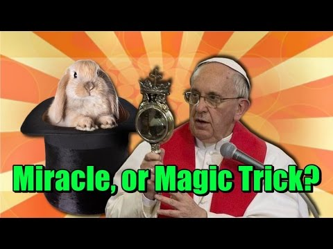 Pope Francis Blood Liquefied - Miracle or Magic Trick?
