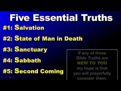 Five Essential Bible Truths