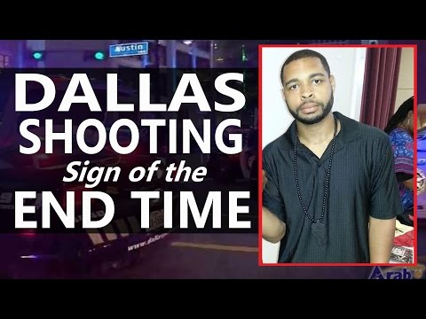 DALLAS SHOOTING | SIGN of the END TIME !!!