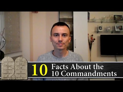 10 Facts About the 10 Commandments | God's Law