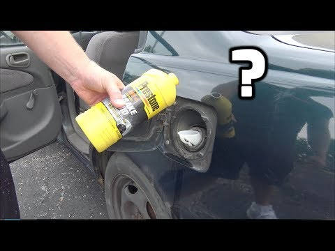 What happens if you put BRAKE FLUID in your gas tank? (You'll be surprised!)