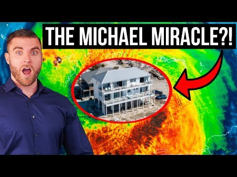 Home SURVIVES Hurricane Michael! – You WON'T Believe This!