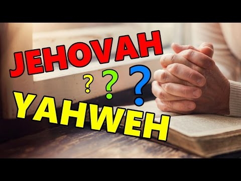 Do We Have to Call God JEHOVAH or YAHWEH When We Pray?