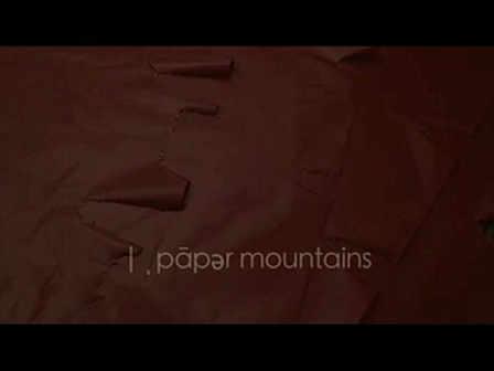 joy whalen : paper mountains
