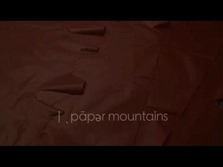 joy whalen : paper mountains