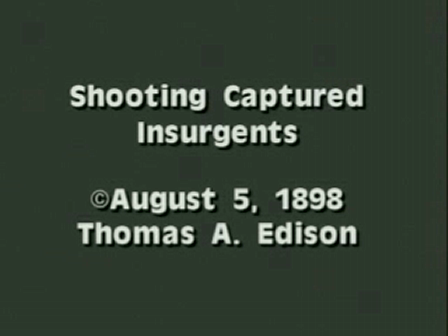 Shooting of Captured Insurgents