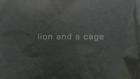 joy whalen : lion and a cage