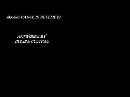 Magic dance in december