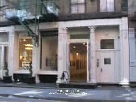 SABC NYC exhibition 2004 - Paul du Toit