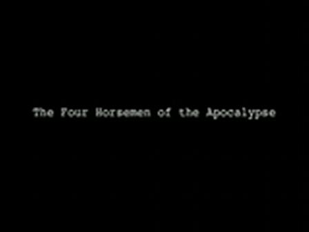 Gordon Cheung - The Four Horsemen of the Apocalypse