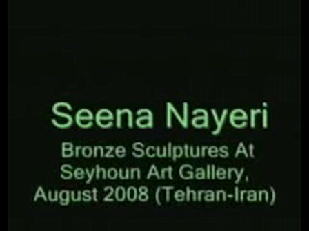 Seena Nayeri Making Bronze Sculptures