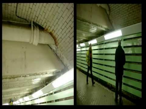 Psycoacoustic Sound Installation in UK train station - Wigan 2009 - NXNW Festival - Brain Food