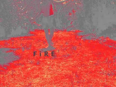 Wednesday Dream. Walking on Fire